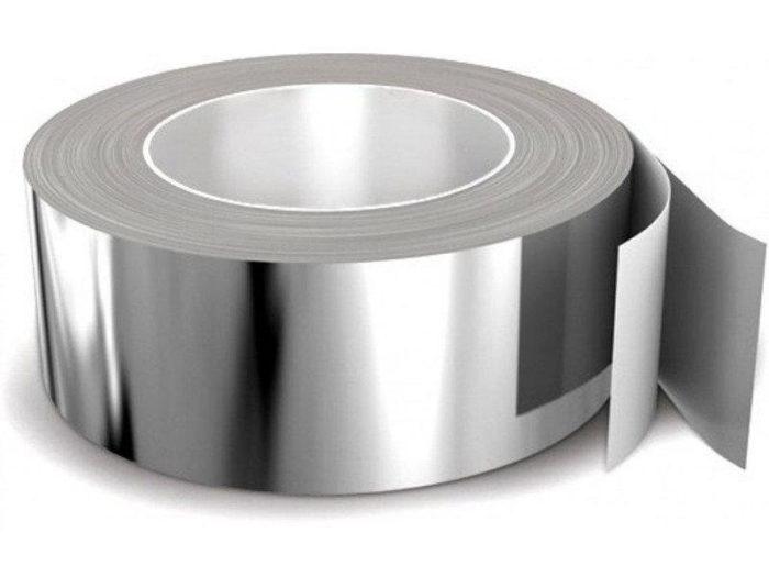 Скотч фольгированный алюминиевый