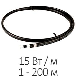 Греющий кабель - Shtein SWT-15 MP SLIM (15 Вт/м, до 200 м)