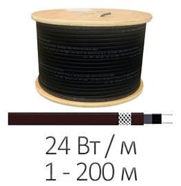 Греющий кабель - Shtein SWT-24 MP UV (24 Вт/м, до 200 м)