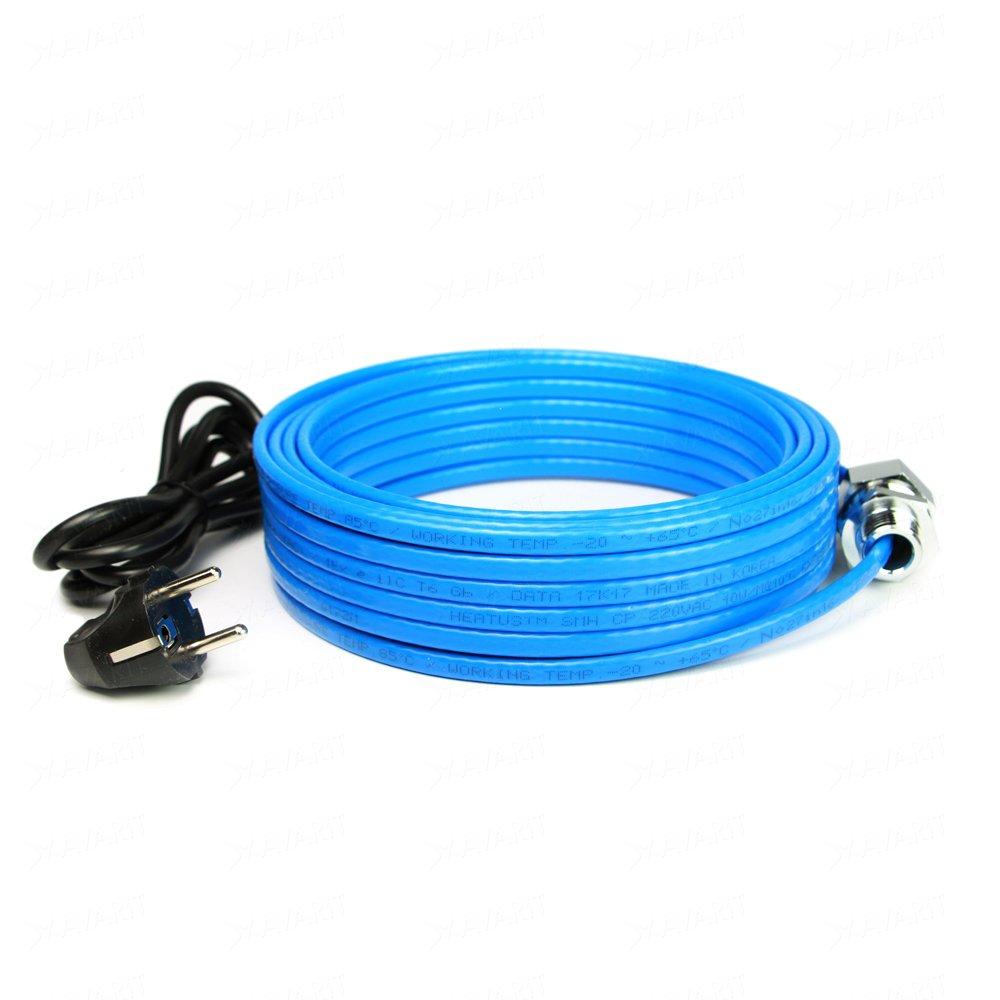 Саморегулирующий греющий кабель Heatus SMH 80 Вт 8 м