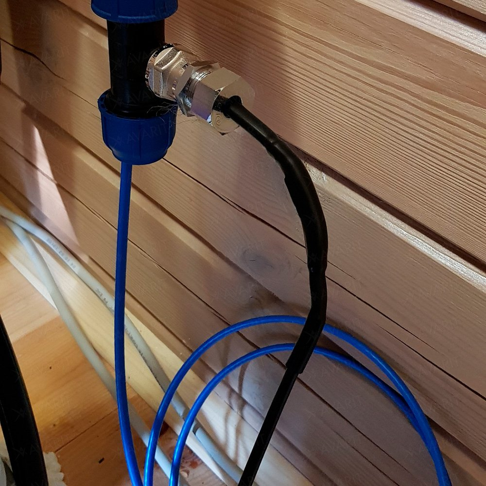 Саморегулирующий греющий кабель Heatus SMH 620 Вт 62 м