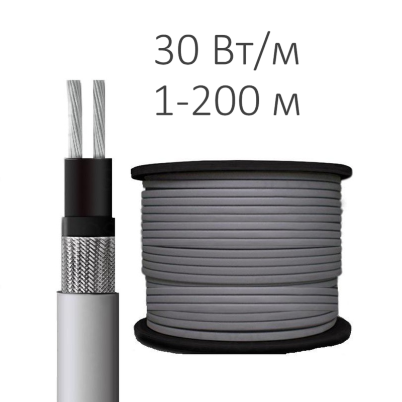 Греющий кабель SRF 30-2СR (30 Вт/м)