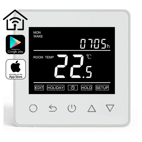 Терморегулятор - THERMOLIFE ET-61W (Wi-FI, 16 А, 3,5 КВТ)