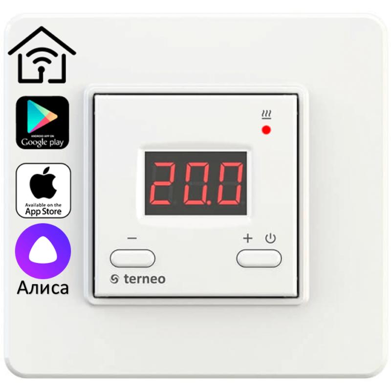 Терморегулятор TERNEO AX (Wi-Fi, 16 А, 3 кВт)