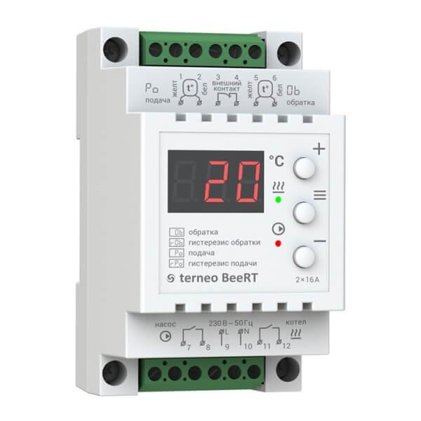 Терморегулятор - TERNEO BeeRT (2x16 А, 2x3 КВТ)