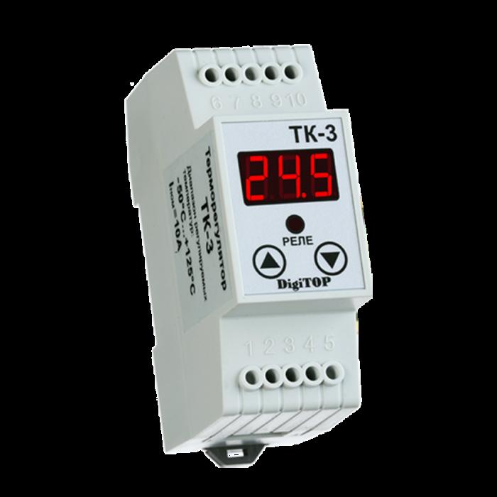 Терморегулятор DIGITOP ТК-3 (6 А, 3 Вт)