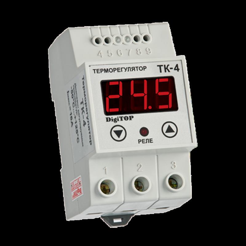 Терморегулятор DIGITOP ТК-4н (16 А, 3 Вт)