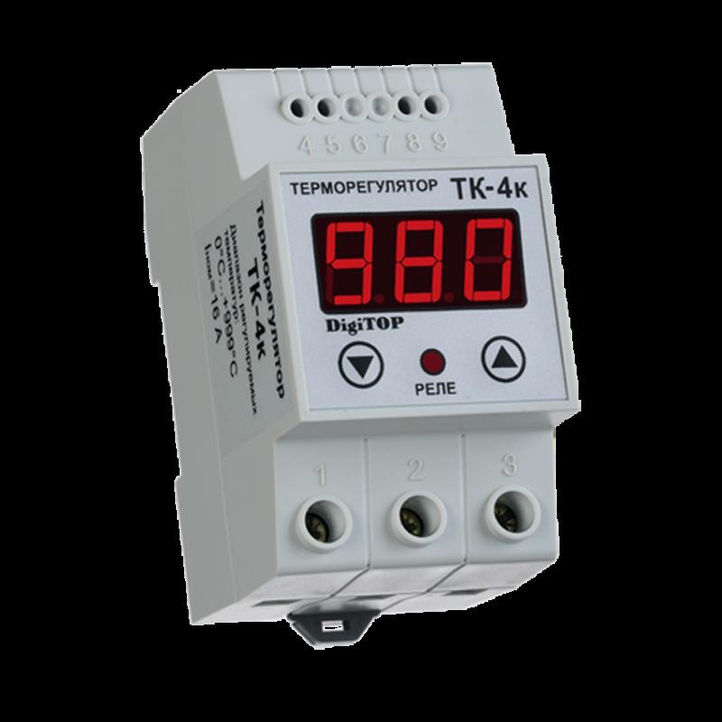 Терморегулятор DIGITOP ТК-4к (16 А, 3 ВТ)