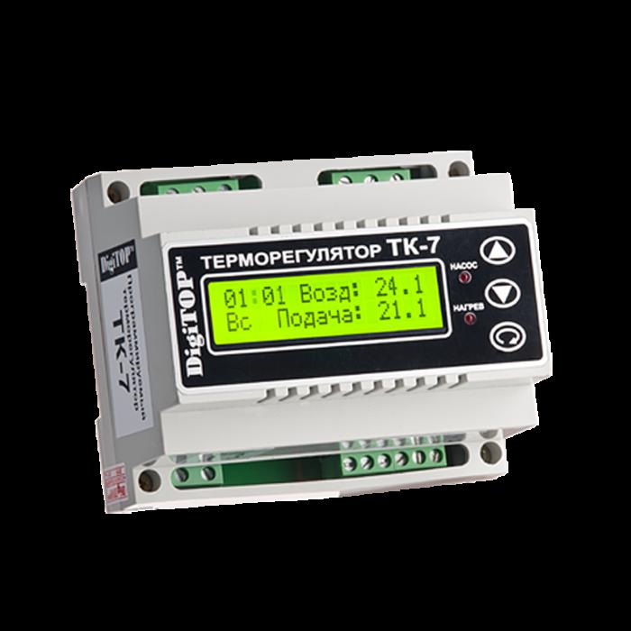 Терморегулятор DIGITOP ТК-7 (4,5 А, 5 Вт)