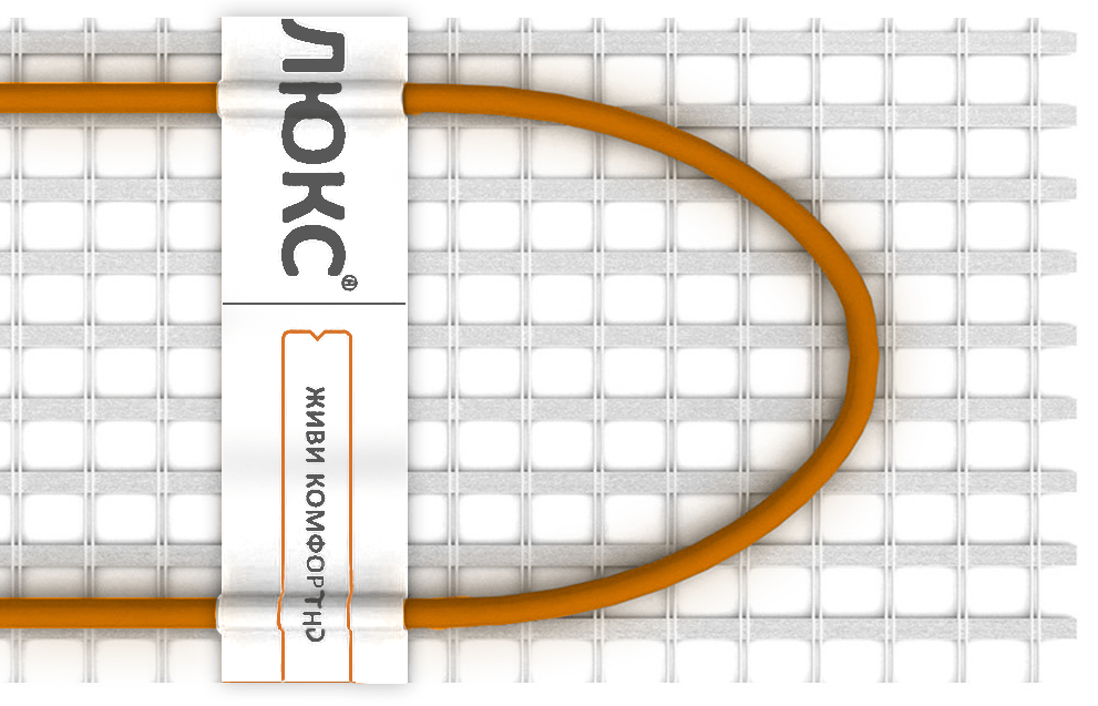 Теплый пол - нагревательный мат Теплолюкс Tropix MHH (240 Вт, 1,5 м2)