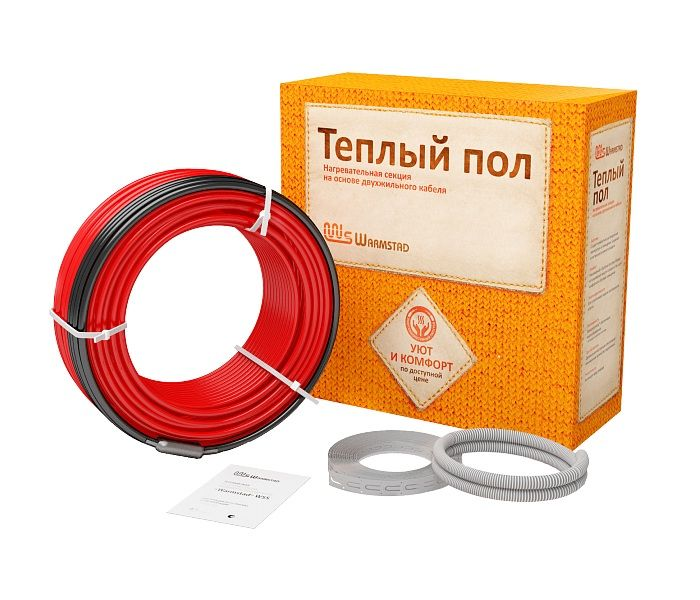 Нагревательный кабель - Warmstad WSS (910 Вт, 61 пм)