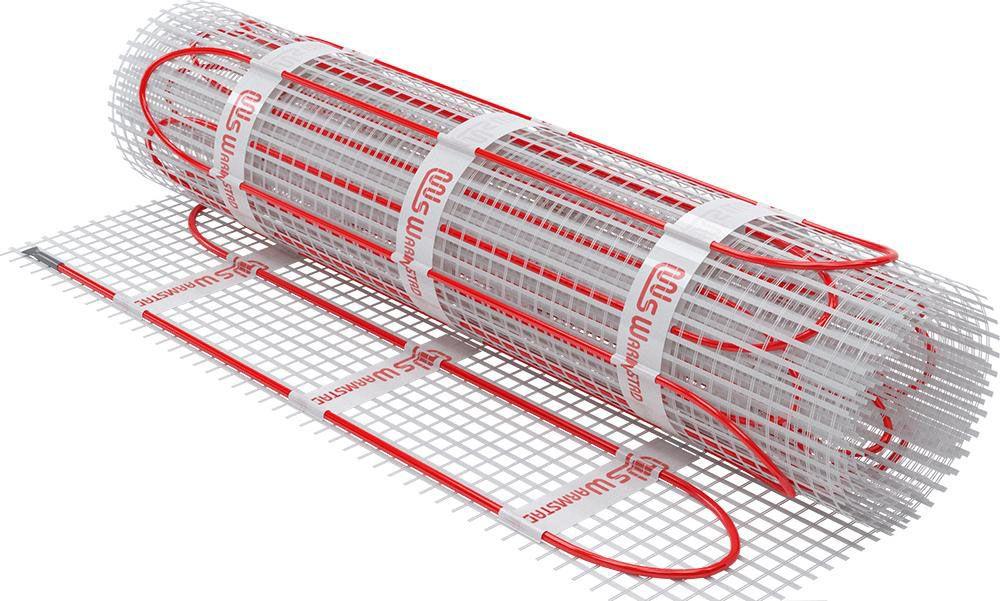 Теплый пол - нагревательный мат WARMSTAD WSM (1210 Вт, 8,0 м2)