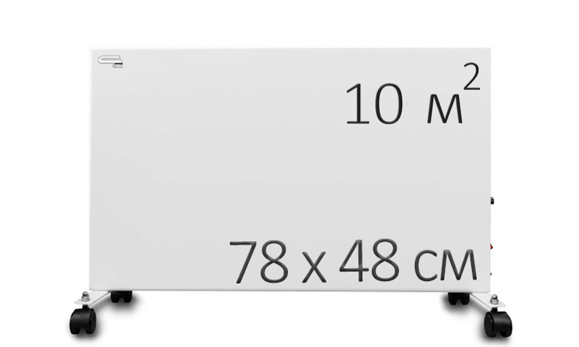 Инфракрасный обогреватель - СТН 500 НЭБ-М-НСт 0,5 мБк с терморегулятором