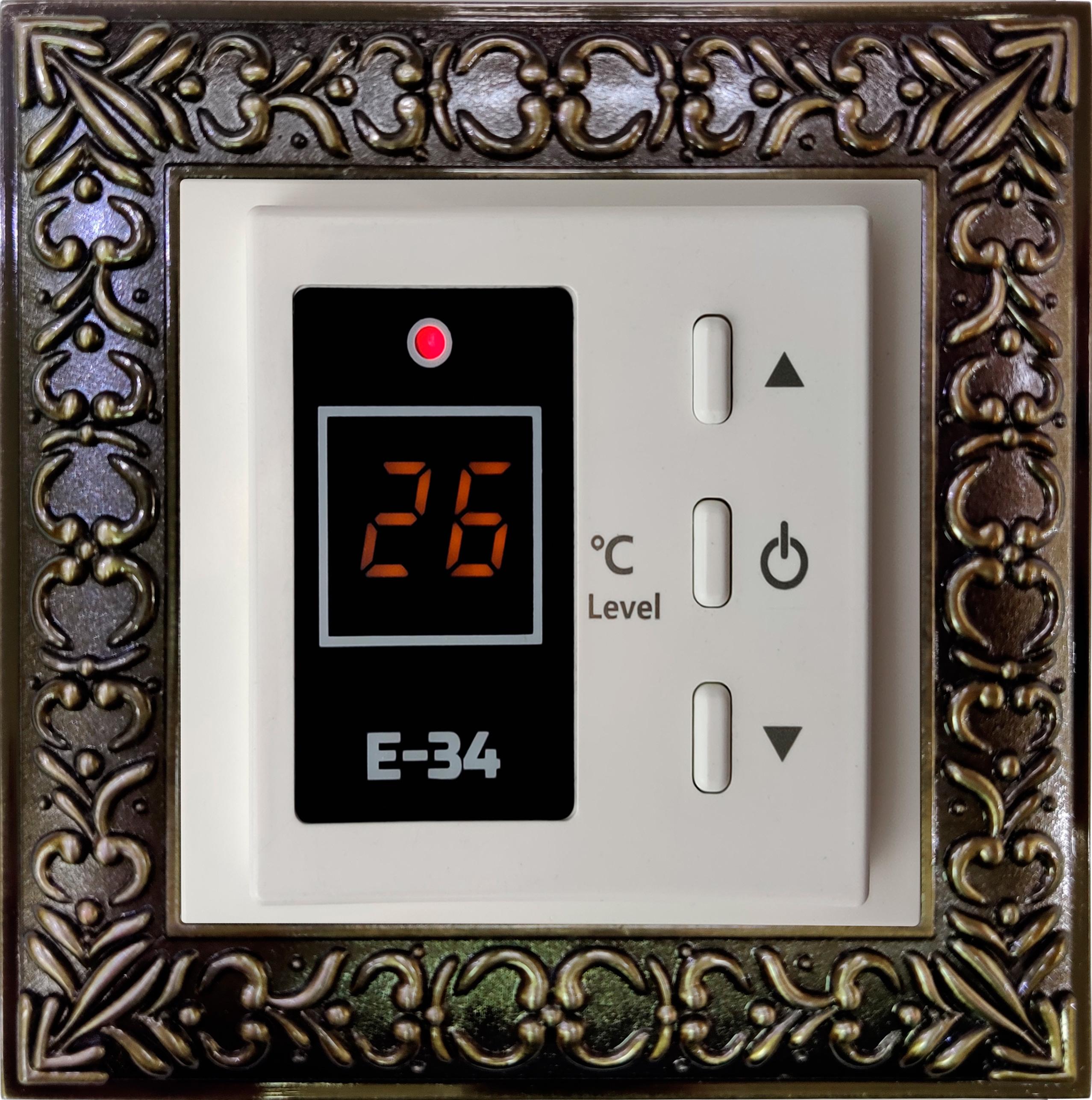 Терморегулятор EASTEC E-34 (16 А, 3,5 кВт)