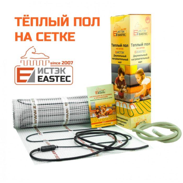 Теплый пол - нагревательный мат Eastec ECM-5,0 (50 м, 800 Вт)