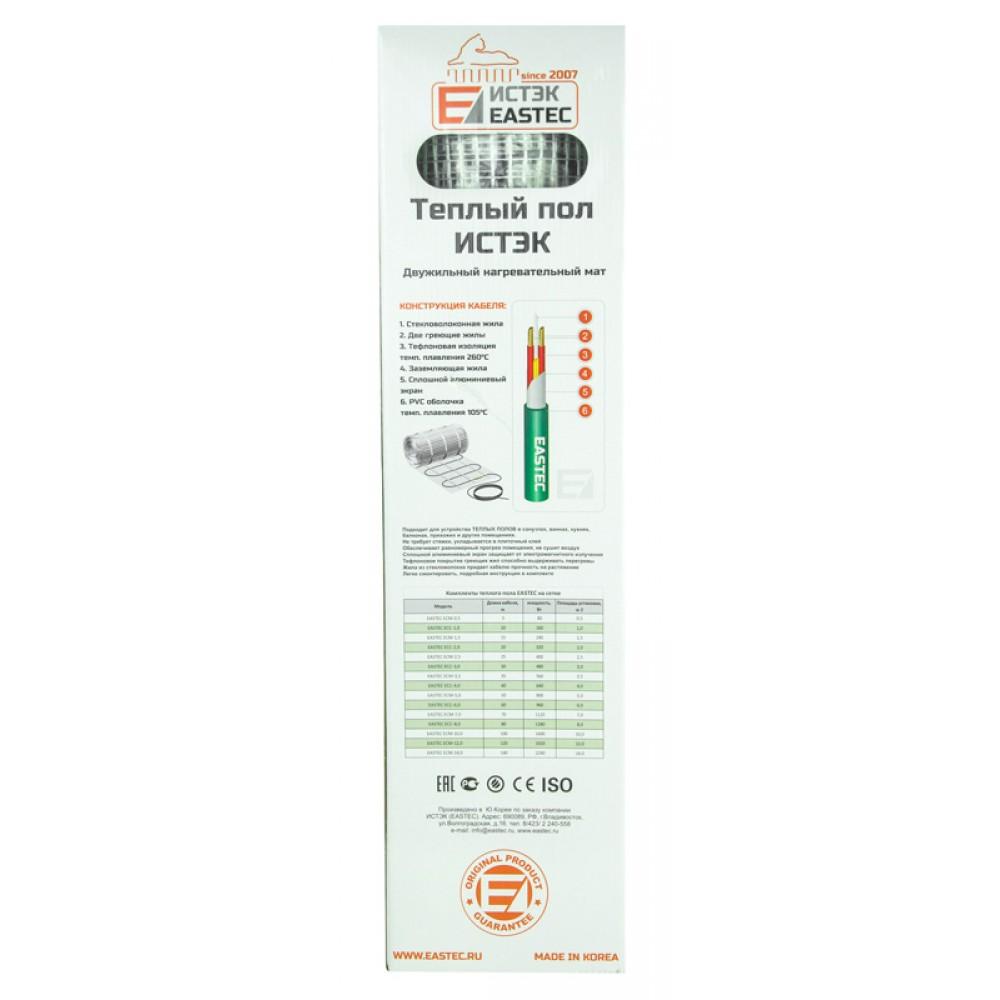 Теплый пол - нагревательный мат Eastec ECM-1,0 (10 м, 160 Вт)
